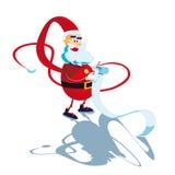 Santa Claus slim Stock Photography