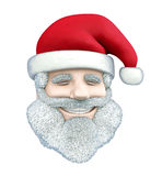 Santa Claus smile Stock Images