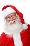 Santa Claus smiling Royalty Free Stock Photography