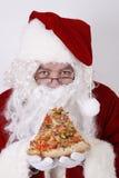 Santa claus smiling Royalty Free Stock Photos