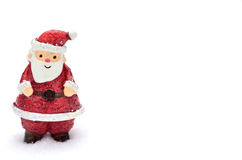 Santa Claus snowtree Arkivfoton
