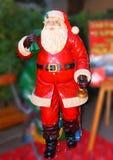 Santa Claus som är klar att gå Arkivfoton