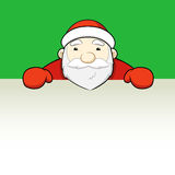 Santa Claus som ut ser.  stock illustrationer