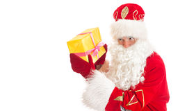 Santa Claus. Space for your text. Royalty Free Stock Images