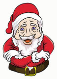 Santa claus stand cool. Santa claus with smile ang cute face stand cool pose Stock Photos