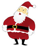 Santa Claus Standing Fotografie Stock Libere da Diritti