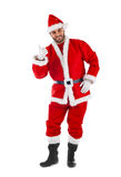 Santa Claus standing Stock Photos