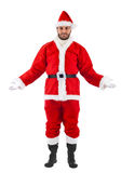 Santa Claus standing Royalty Free Stock Images