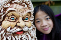 Santa Claus statue Stock Image