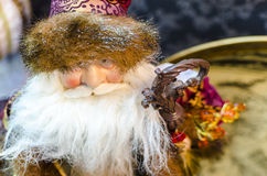 Santa Claus statue close up