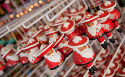 Santa Claus statues Stock Photos