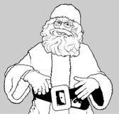 Santa Claus-status Royalty-vrije Stock Afbeelding
