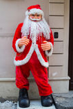 Santa Claus on the street Royalty Free Stock Photo
