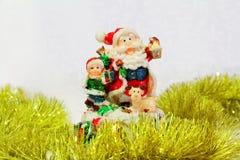 Santa Claus-stuk speelgoed Stock Fotografie