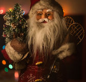 Santa Claus-stuk speelgoed Royalty-vrije Stock Afbeelding