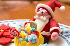 Santa Claus-suikerdeeg Royalty-vrije Stock Foto