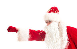 Santa Claus - superhero. Stock Image