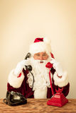 Santa Claus support Stock Photography