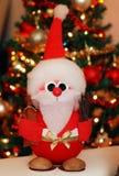 Santa Claus sveglia per le feste di Natale fotografia stock
