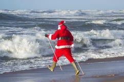 Santa claus szalony Zdjęcie Stock