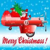 Santa claus szczęśliwy Zdjęcia Stock
