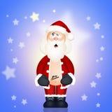 Santa claus with tattoo Stock Photo