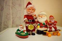 Santa Claus team Stock Photo