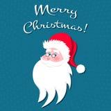 Santa Claus tecknad filmtecken Arkivfoton