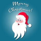 Santa Claus tecknad filmtecken Royaltyfri Bild