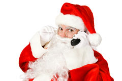 Santa Claus - Telephone Stock Images