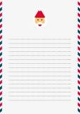 Santa Claus template Stock Photos