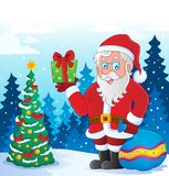 Santa Claus thematic image 5 Royalty Free Stock Images
