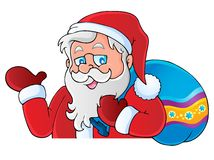 Santa Claus thematic image 6 Stock Image