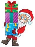 Santa Claus theme image 1 Royalty Free Stock Photo