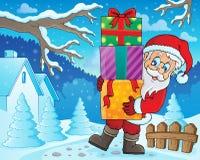 Santa Claus theme image 2 Royalty Free Stock Photo