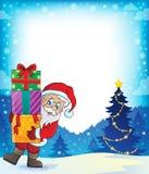 Santa Claus theme image 3 Stock Photography