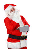 Santa Claus thinking Royalty Free Stock Photo