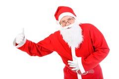 Santa claus with thumb up Royalty Free Stock Photo