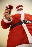 Santa claus toast Stock Photo