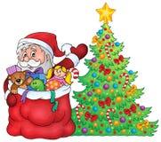 Santa Claus topic image 2 Royalty Free Stock Images