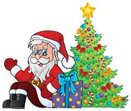 Santa Claus topic image 7 Royalty Free Stock Photo