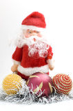 Santa claus toy Stock Image