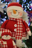 Santa Claus toy Stock Image