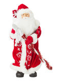 Santa Claus toy isolated on the white background Stock Images