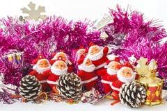 Santa Claus Toys Royaltyfria Bilder