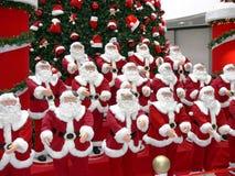 Santa Claus and tree Stock Photography