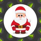 Santa Claus Tree Background Photographie stock libre de droits