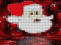 Santa Claus ut ur ljus Royaltyfri Fotografi