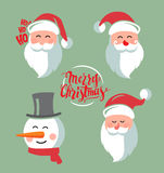 Santa Claus vector Royalty Free Stock Images