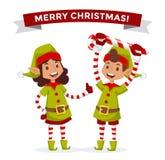 Santa Claus vector illustration. Cartoot old man. Santa Claus vector illustration. Santa Claus cartoot old man with red hat and sack. Santa Claus traditional royalty free illustration